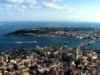 Istanbul il ponte sul Bosforo