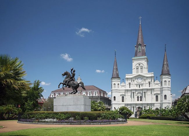 Louisiana Jackson-Square