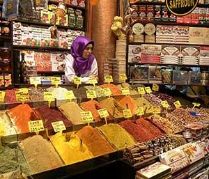 Il mercato delle spezie foto di Jan Scott