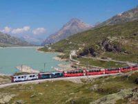 Bernina Express Foto Kabelleger
