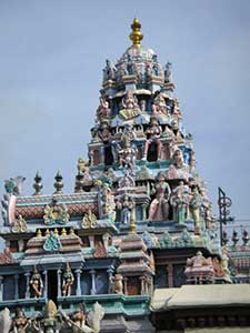 Penang Il Tempio Mahamariammana Georgetown