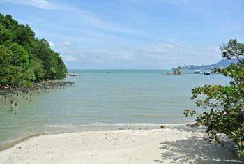 Penang Una spiaggia di Penang