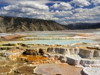 Parco Nazionale di Yellowstone, terrazzamenti in pietra