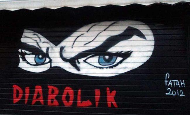 Diabolik Graffiti-foto Nicola Gemini