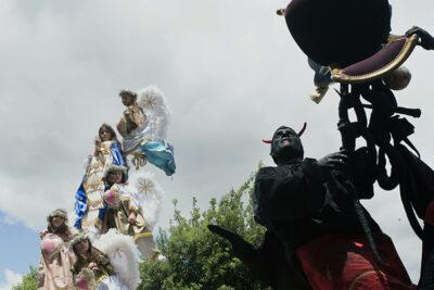 Molise Campobasso la processione dei misteri