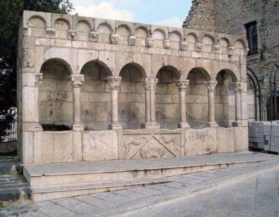Isernia, la Fontana della Fraterna