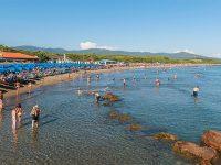 Il mare di Castiglione della Pescaia