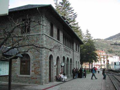 La stazione di Ribes Vila Foto Chixoy