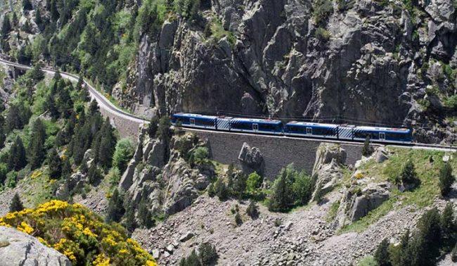 """Pirenei con il """"ferrocarrill"""""""