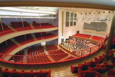 Auditorium Rai balconata foto Vincenzola3