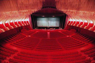 La sala del Teatro Regio