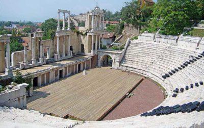 L'anfiteatro di Plovdiv foto Edal Anton Lefterov