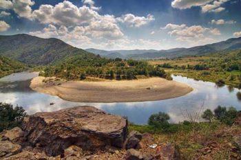 Bulgaria Il meandro del fiume Arda-foto di Evgeni Dinev