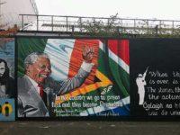 Murale con Nelson Mandela (foto: Keith Ruffles)