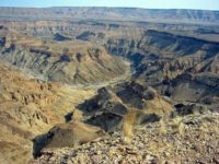 Fish River Canyon, splendido e inquietante
