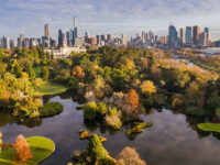Veduta panoramica di Melbourne
