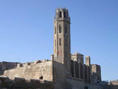 Lleida Seu Vella, il Campanile dell'antica cattedrale