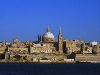 Gozo e Malta , mare d'autunno