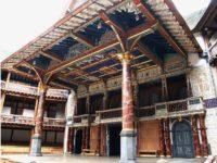 Globe Theatre, il palcoscenico