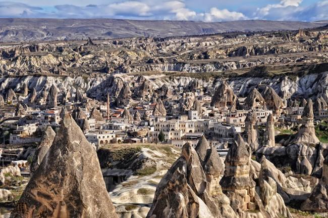 Cappadocia, incredibile follia geologica