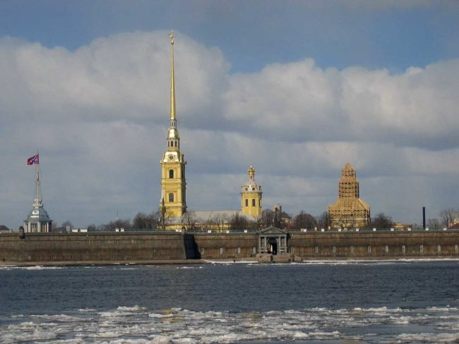 San Pietroburgo e la Neva, sua sposa