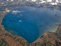 Foto aerea del Lago di Bolsena
