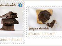 Francobolli al sapore di cioccolato