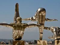 Armenia, statue che raffigurano di ginnasti (ph. Mario Negri © Mondointasca.it)