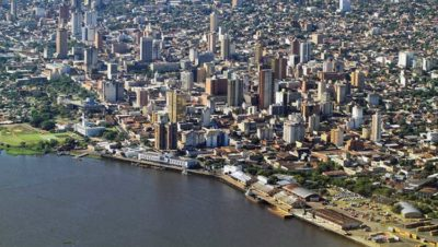 Paraguay I palazzi di Asunción