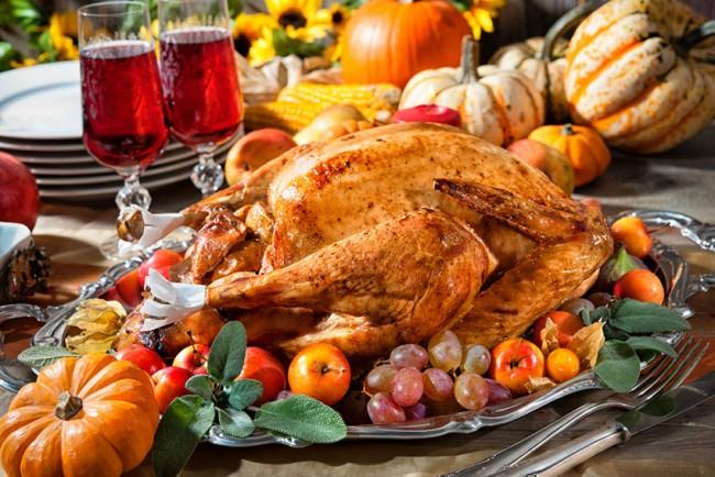 Il Thanksgiving è servito