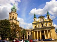 La Torre Trynitarska e la Cattedrale