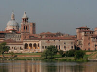 Mantova vista dal Mincio
