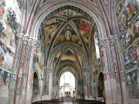 Interni della Basilica di Santa Caterina d'Alessandria a Galatina