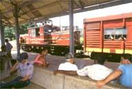 Treno rosso Stazione d'arrivo: Matanzas