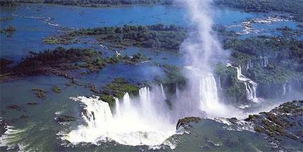 Iguazù Cascate Iguazù, panoramica