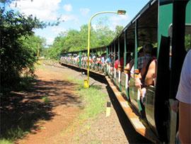 Iguazù Il trenino panoramico