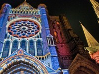 Luci magiche a Chartres