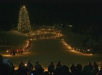 Fiaccolata sugli sci a Madonna di Campiglio