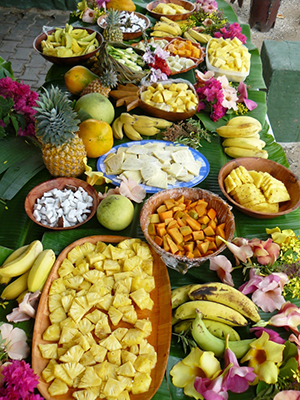 La cucina esotica dei Mari del Sud