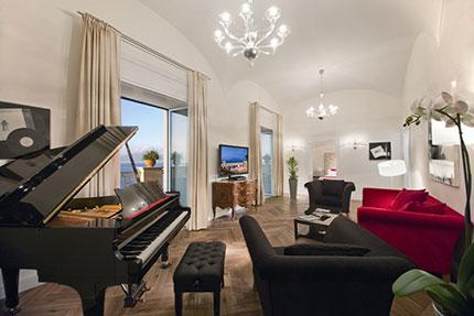 A Sorrento nella suite di Lucio Dalla