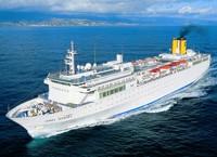 Due navi per le crociere in Oriente di Costa