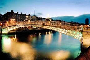 Dublino Il Penny Ha'Bridge