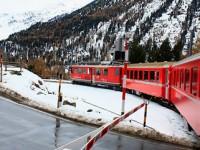 Movimento lento lungo le Alpi