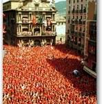 """Pamplona, correre con """"los toros"""""""