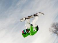 Acrobazie sulla neve