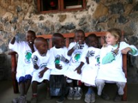 La settimana bianca dei piccoli Maasai