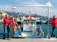 Savona, il mare per i disabili