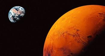 festeggiare Fuggire su Marte... (Photo: GETTY)
