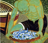 La pittura di Giuseppe Migneco a Taormina