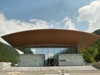 Il Museo Plessi con acqua e tecnologia è al casello